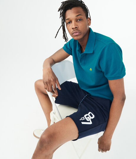 "Linked NY87 9"" Fleece Shorts"