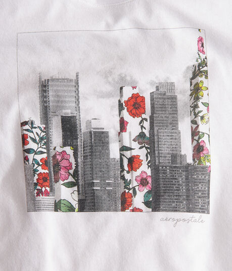 Floral City Graphic Tee