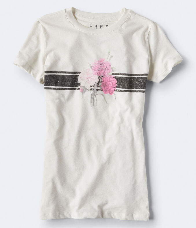 Free State Bouquet Stripe Graphic Tee