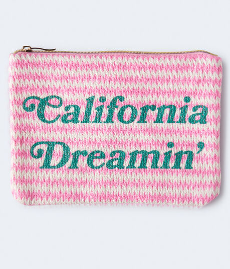 California Dreamin' Zippered Pouch