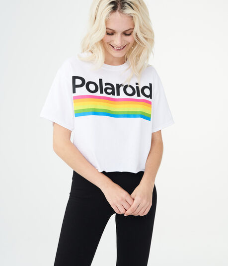 Polaroid Rainbow Graphic Tee