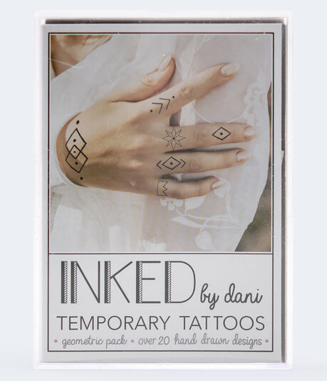 Inked By Dani Geometric Temporary Tattoos
