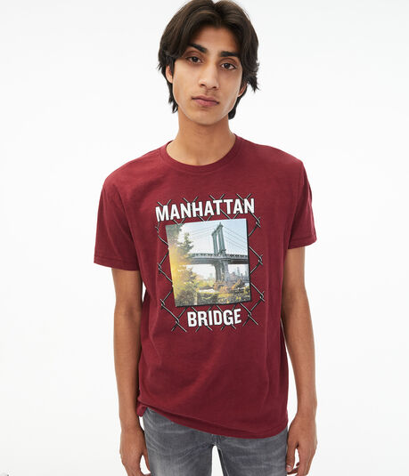 Manhattan Bridge Graphic Tee