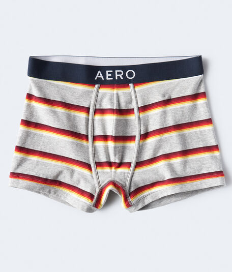 Multi-Stripe Knit Trunks