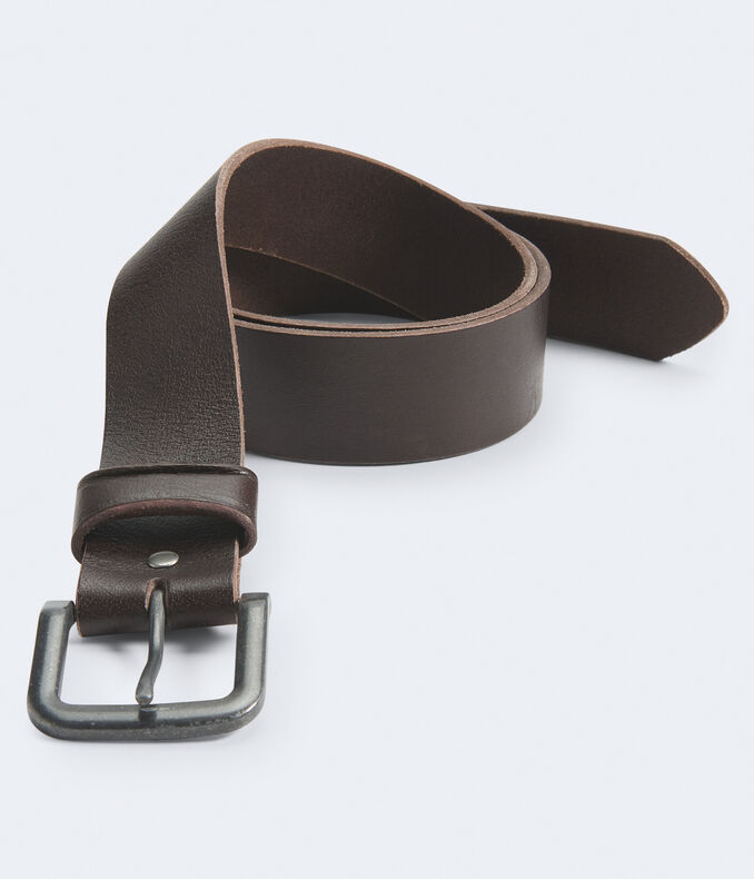Solid Core Leather Belt