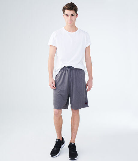"A87 9.5"" Mesh Athletic Shorts"