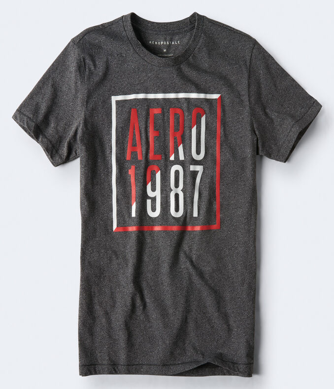 Aero 1987 Box Graphic Tee