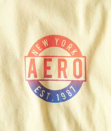 New York Aero Circle Logo Graphic Tee