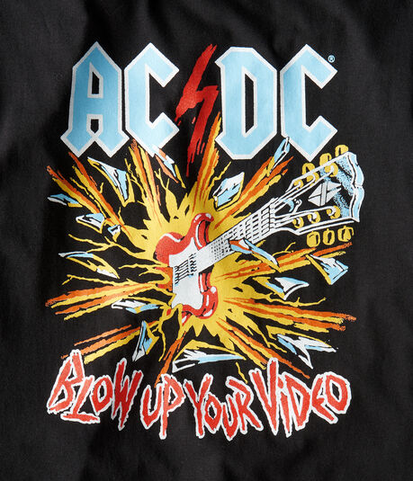 AC/DC Blow Up Your Video Graphic Tee