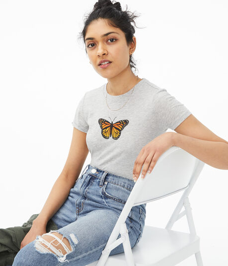 Monarch Butterfly Graphic Tee
