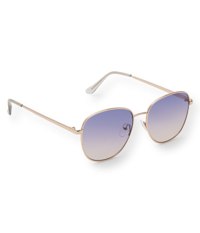 Square Flat Lens Sunglasses