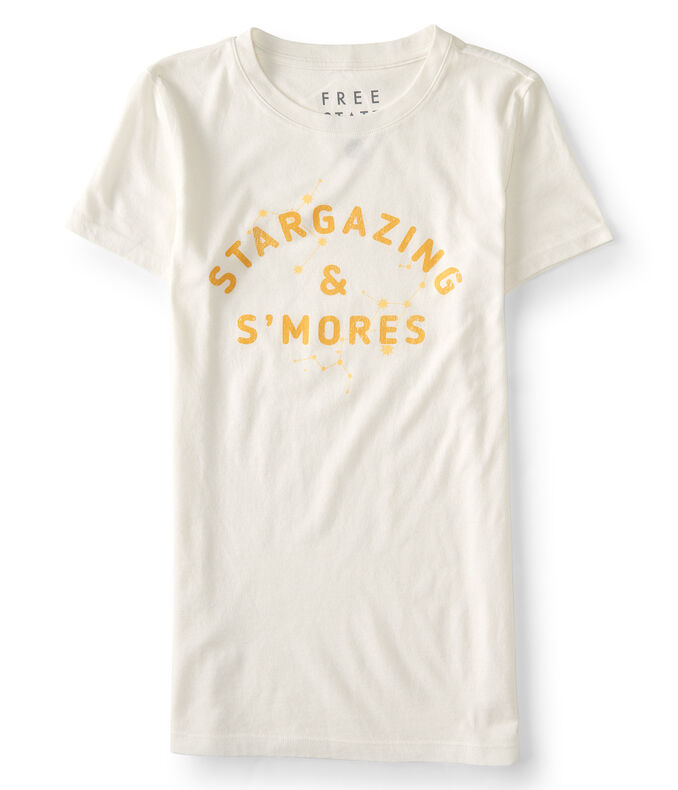 Free State Stargazing & S'Mores Graphic Tee