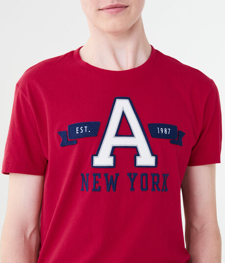 "New York ""A"" Logo Graphic Tee"