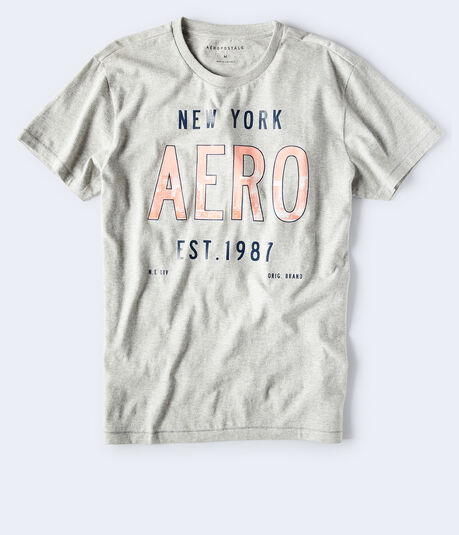 New York Aero Logo Graphic Tee
