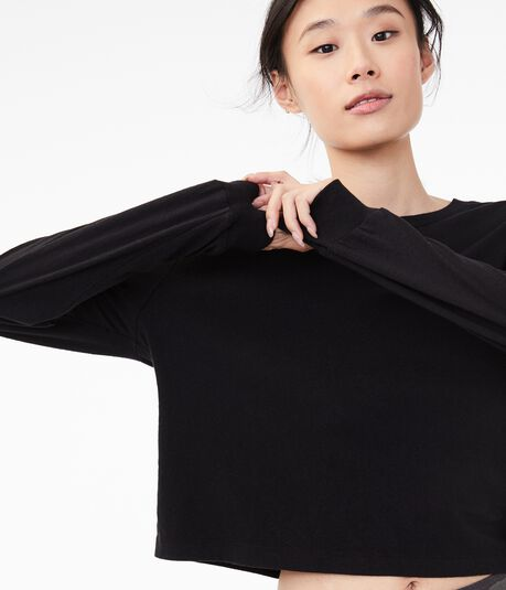 Long Sleeve Tomboy Crew Tee