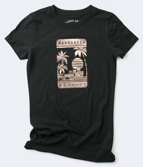 Marrakesh Foil Graphic Tee