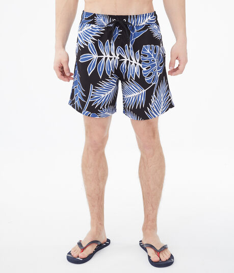 Island Leaves Swim Shorts