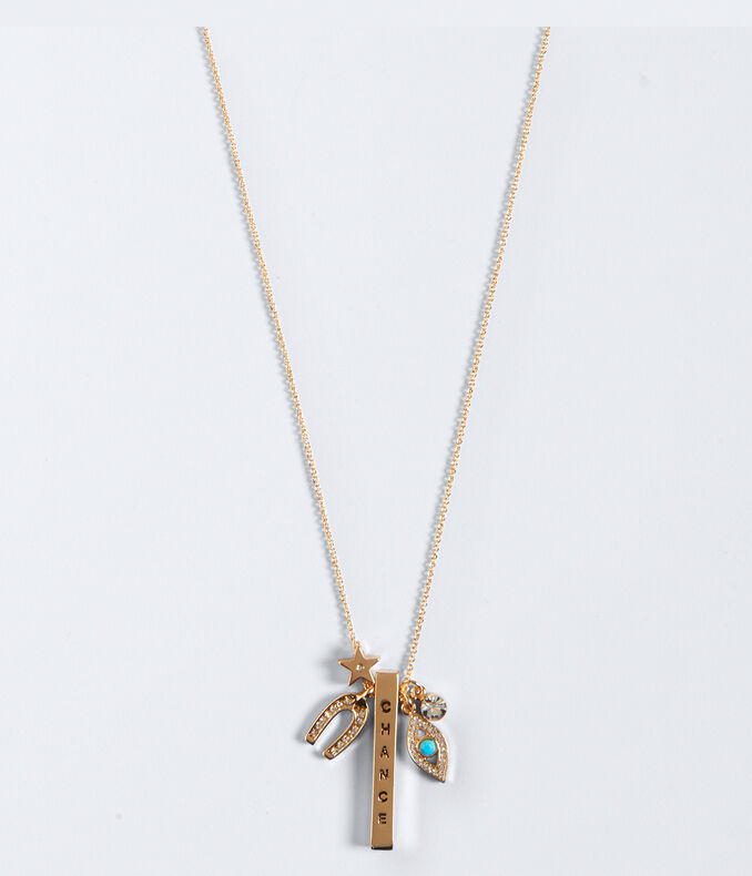 Chance Long-Strand Necklace