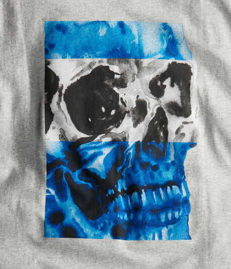 Free State Two-Tone Skull Graphic Tee