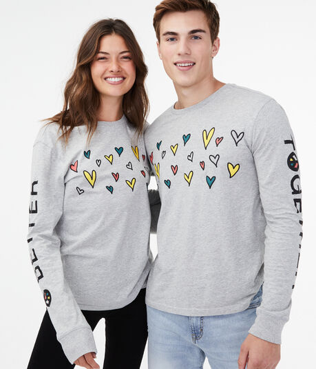 Long Sleeve Aero One Better Together Graphic Tee