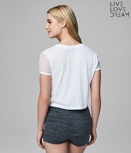 LLD All About That Chase Crop Tee