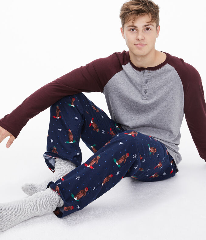 Snowboarding Grizzlies Lounge Pants