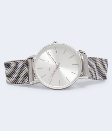 Magnetic Metal Mesh Watch