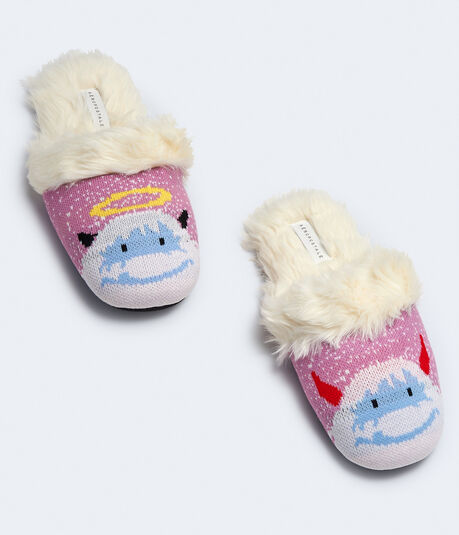 Angel & Devil Yeti Slipper***