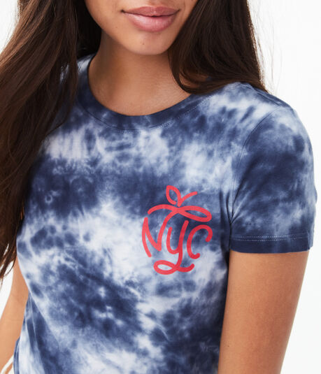 NYC Tie-Dye Graphic Tee