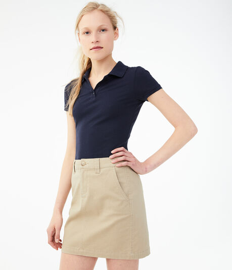"Solid 16"" Uniform Skirt***"