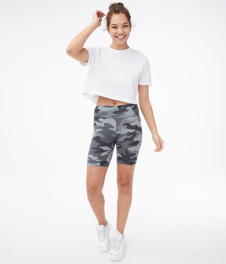 Camo Lounge Bike Shorts