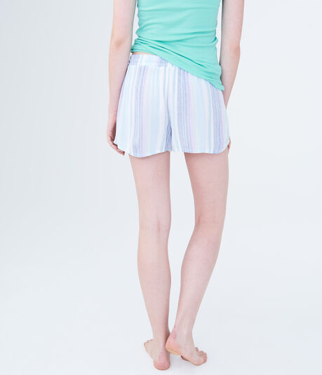 LLD Striped Sleep Shorts