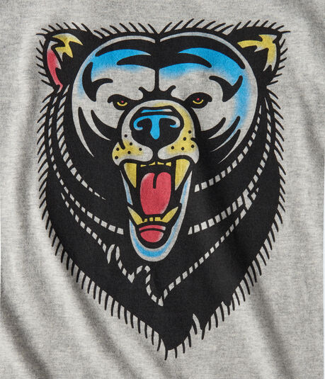 Free State Tattoo Bear Graphic Tee