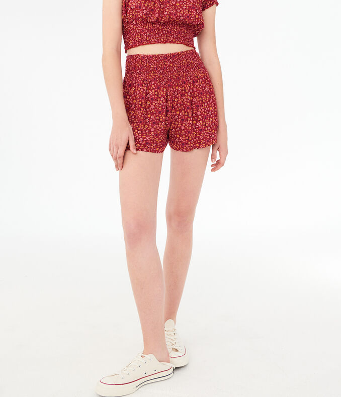 Floral Soft Shorts