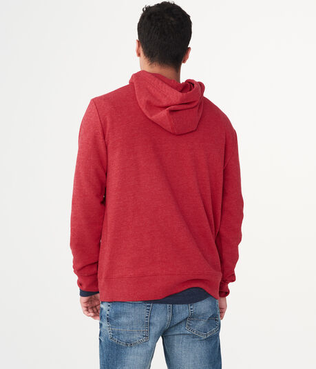 Solid Lounge Pullover Hoodie