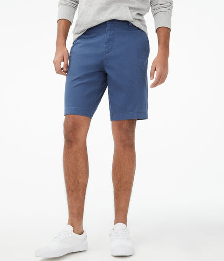 "Classic 9.5"" Stretch Chino Shorts"