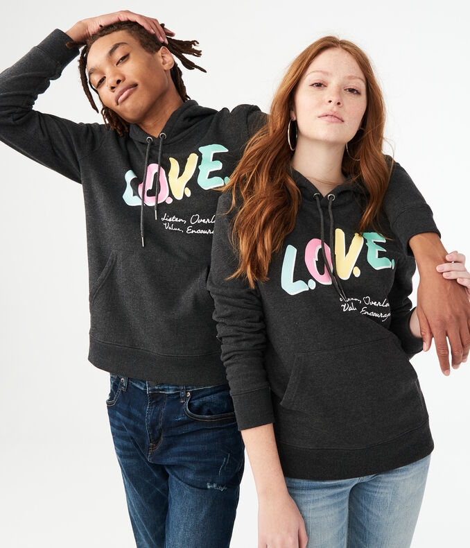 Aero One Love Pullover Hoodie