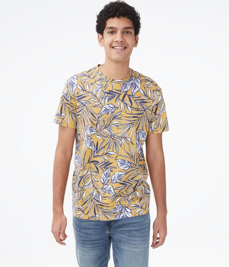 Tropical Leaves Graphic Tee