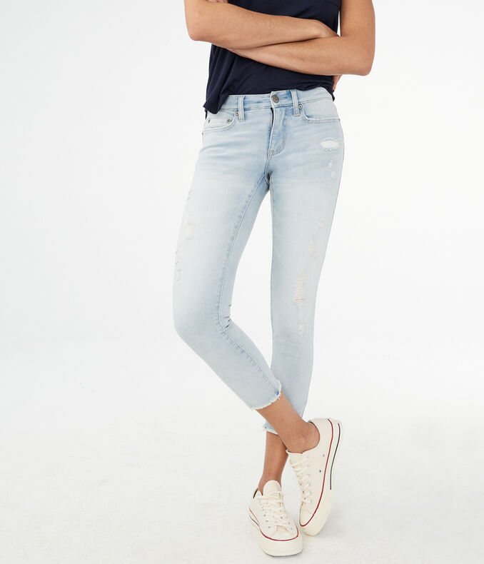 Flex Effects Low-Rise Cropped Jegging