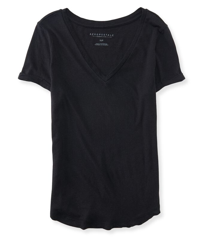 09219e9b5 Images. Seriously Soft Perfect V-Neck Tee