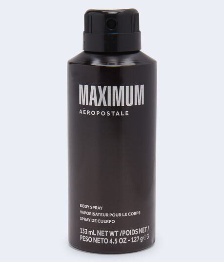 Maximum Body Spray