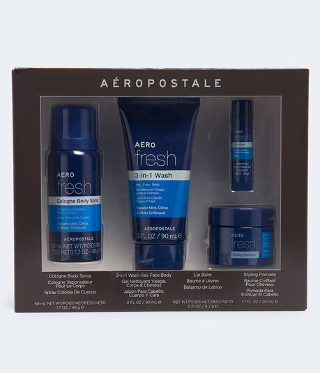 Aero Fresh Guys' Grooming Gift Set