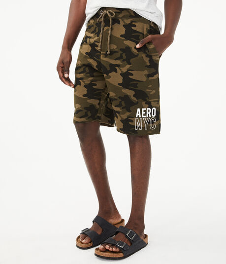 "cc5dfd8d0 Aero NYC Camo 9"" Fleece Shorts ..."