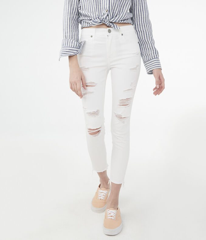 High-Waisted Crop Jegging