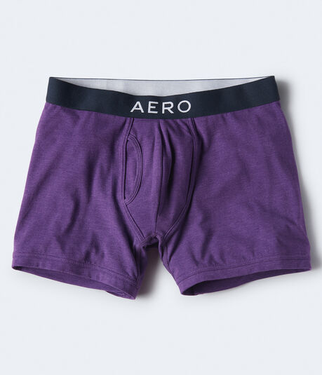 Solid Logo Knit Boxer Briefs