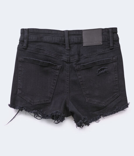 Real Denim Vintage High-Rise Shorty Shorts