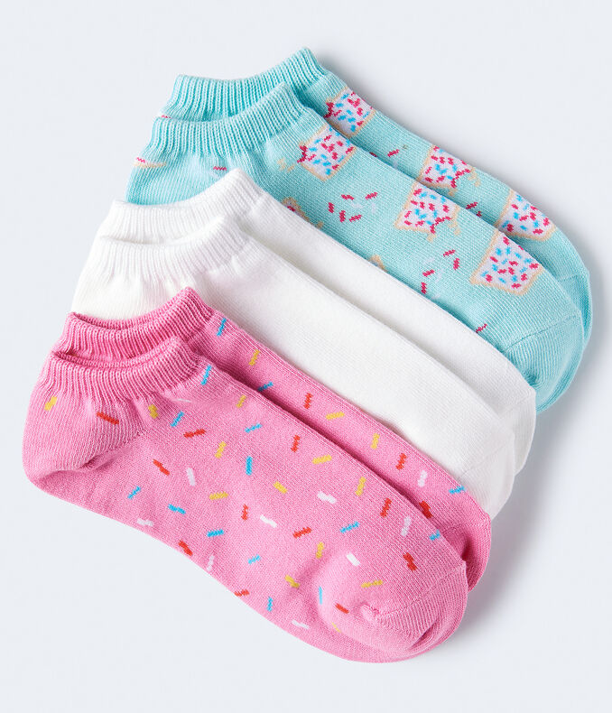 Sprinkles Ankle Sock 3-Pack