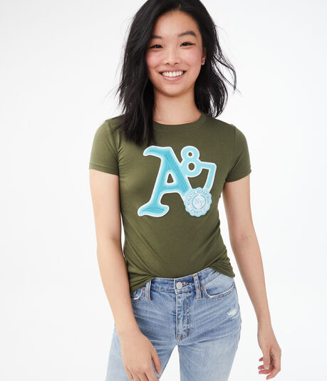 A87 NY Crest Graphic Tee