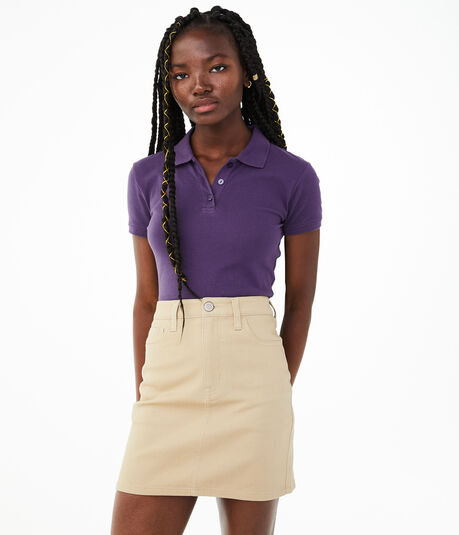 "High-Rise 16"" Uniform Skirt***"