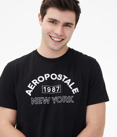 Aeropostale 1987 Arch Logo Graphic Tee